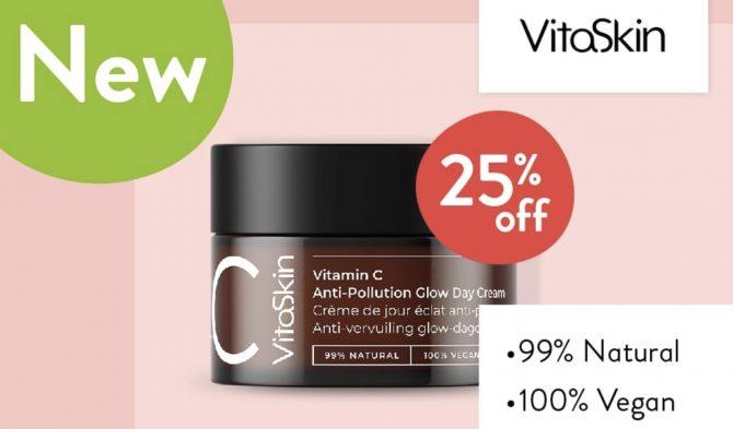 VitaSkin Vitamin C Anti pollution glow day cream