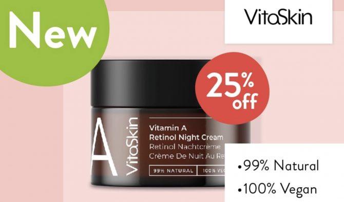 VitaSkin Vitamin A Retinol Night Cream