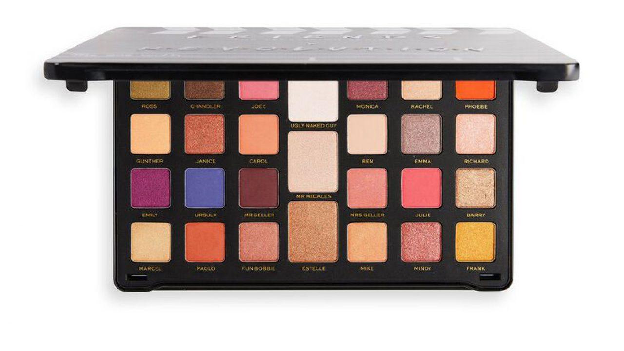 Friends x revolution eyeshadow palette names