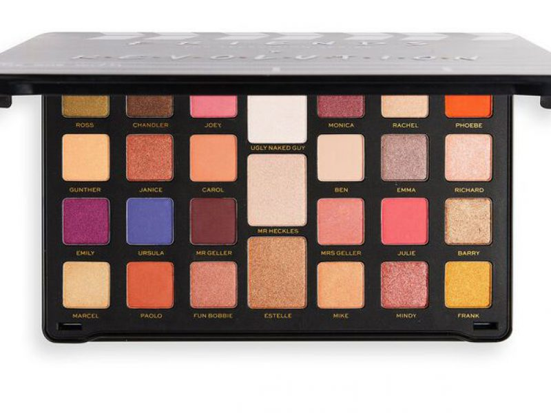 Friends x revolution eyeshadow palette names