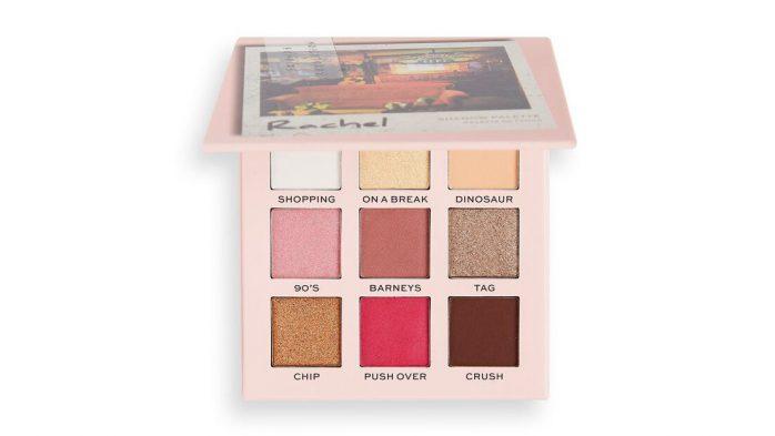 Rachel eyeshadow palette friends revolution
