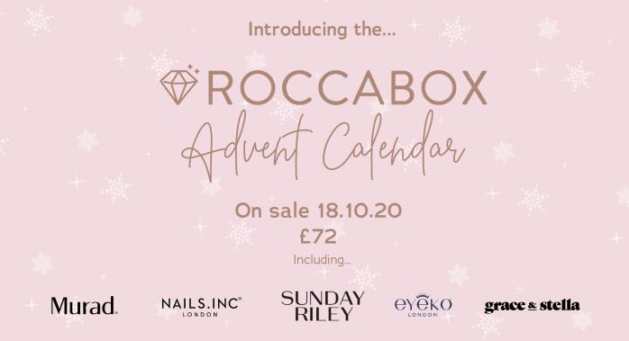 Roccabox beauty advent calendar