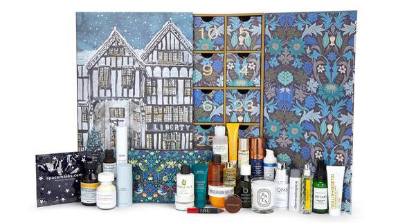 Whats inside the liberty beauty advent calendar